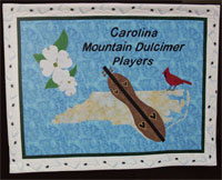 Carolina Mountain Dulcimer Players club banner