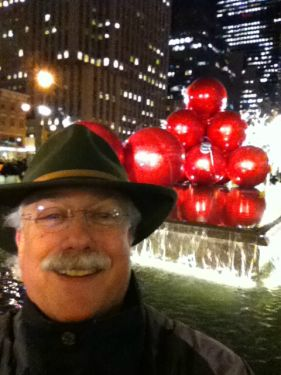 My first selfie...NYC New Years Eve