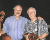Gordon Arnold (cello) and Jeff at Swannanoa Gathering, Celtic Week 2005
